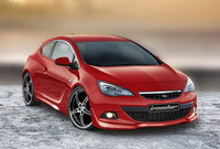 Обвес на Opel Astra J GTC от Irmscher