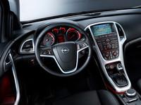 Трёхдверный хэтчбек Opel Astra в Париже
