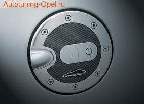 Накладка на крышку бензобака самоклеющаяся Opel Corsa D, Opel Vectra C