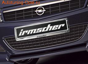 Рамка номера для автомобилей Opel хромированная