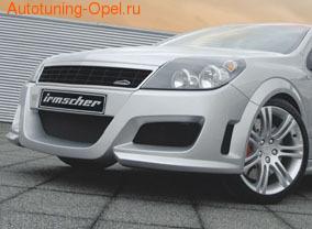 Бампер передний Opel Astra H GTC для автомобилей без противотуманных фар