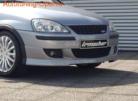 Накладка на бампер передний Opel Corsa C