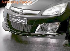 Накладка на бампер передний Opel GT