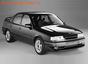 Накладка на бампер передний Opel Vectra A