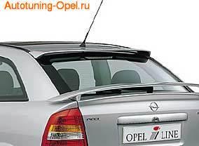 Спойлер на крышу Opel Astra G