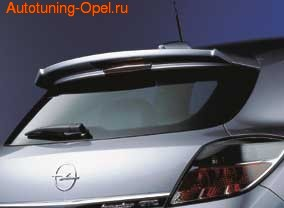 Спойлер на крышу Opel Astra H GTC