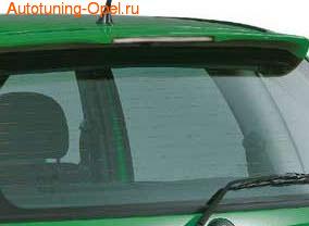 Спойлер на крышу Opel Corsa B