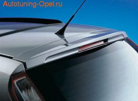 Спойлер на крышу Opel Meriva