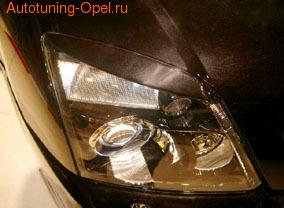 Реснички на фары Opel Signum, Opel Vectra C