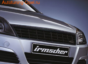 Решетка радиатора Opel Astra H Хэтчбек, Универсал, GTC (дорестайлинг) черная