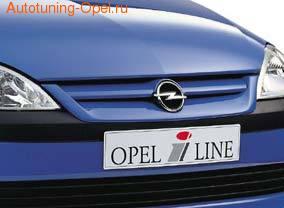 Решетка радиатора Opel Corsa C
