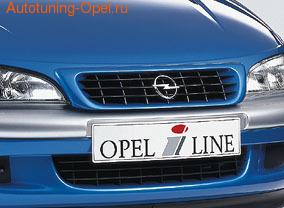 Решетка радиатора Opel Tigra