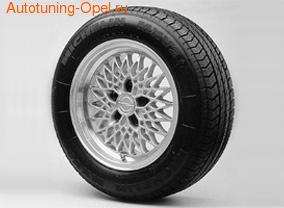 Диски литые R15 легкосплавные серебристые в стиле LM-Rad для Opel Astra F, Opel Calibra, Opel Vectra A