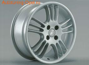 Диски литые R15 легкосплавные серебристые в стиле Spectra Line-Design для Opel Astra F, Opel Astra G, Opel Calibra, Opel Corsa C, Opel Tigra A, Opel Vectra B
