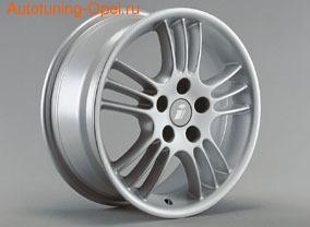 Диски литые R15 легкосплавные серебристые в стиле Spectra Line-Design для Opel Astra G, Opel Сalibra, Opel Corsa C, Opel Vectra B