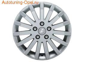 Диски литые R16 легкосплавные серебристые в стиле Signa-Design для Opel Astra F, Opel Astra G, Opel Calibra, Opel Corsa B, Opel Corsa C, Opel Meriva, Opel Tigra, Opel Vectra A, Opel Vectra B