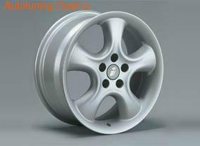 Диски литые R17 легкосплавные серебристые дизайн Softstern-Design для Opel Vectra C