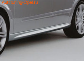 Пороги Opel Astra H Twin Top