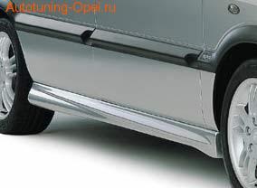 Пороги Opel Zafira A