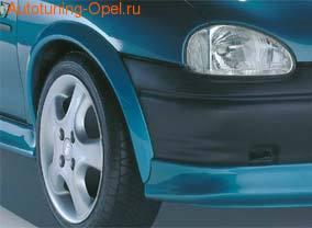 Расширители арок передних Opel Corsa B (левый)