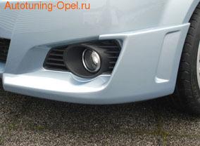 Расширители арок передних Opel Tigra