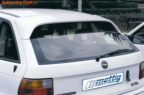 Спойлер на крышу Opel Astra F
