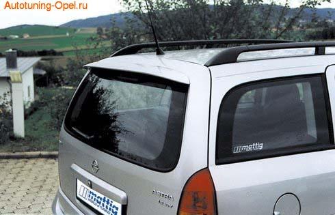 Спойлер на крышу для Opel Astra G