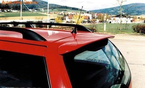 Спойлер на крышу Opel Vectra B