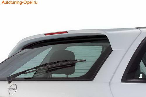 Спойлер на крышу Opel Astra F с третьим дополнительным стоп-сигналом