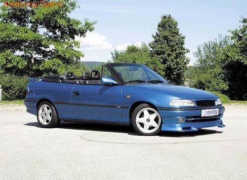 Накладка на бампер передний Opel Astra F (Тип H)