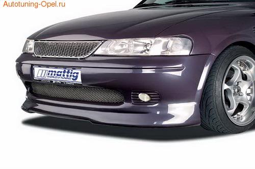Накладка на бампер передний Opel Vectra B