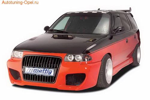 Бампер передний Opel Astra F