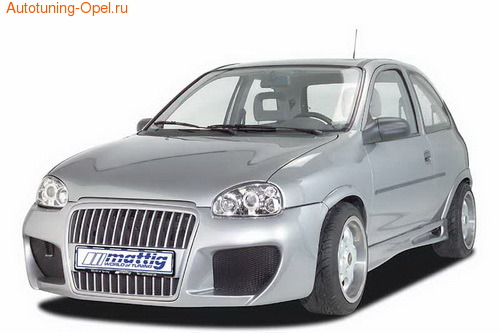 Бампер передний Opel Corsa B