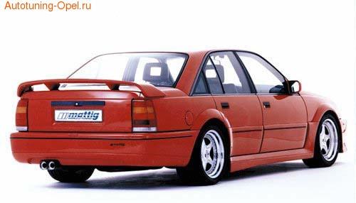 Бампер задний Opel Omega A
