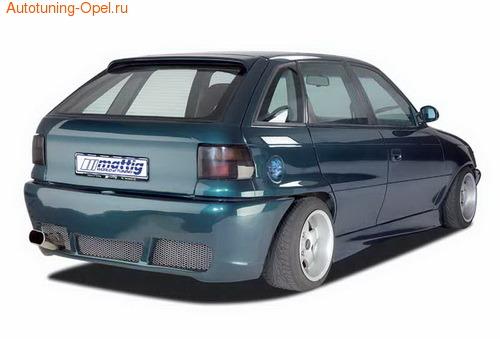 Бампер задний Opel Astra F