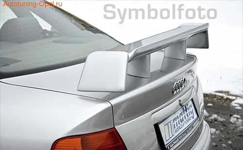 Спойлер задний Opel Vectra A в стиле Extrem из 3-х составляющих