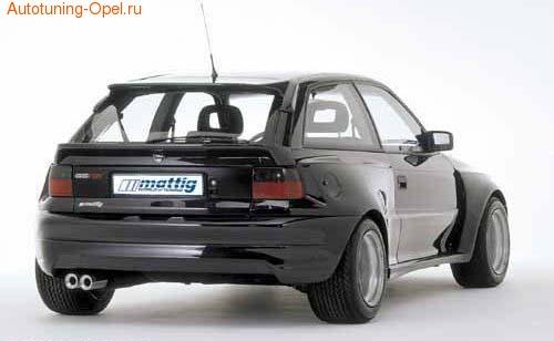 Спойлер задний Opel Astra F в стиле Extrem