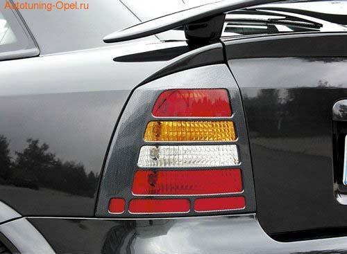 Накладки на фонари Opel Astra G