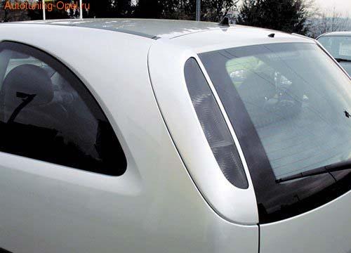 Накладки на фонари Opel Corsa C
