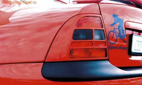 Накладки на фонари Opel Vectra B