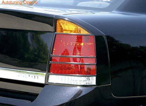 Накладки на фонари Opel Vectra C