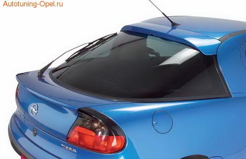 Накладка на стекло Opel Tigra A