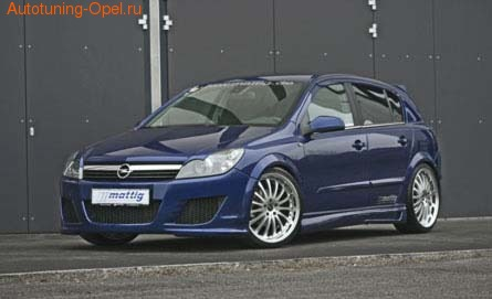 Пороги Opel Astra H