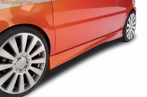 Пороги Opel Astra F