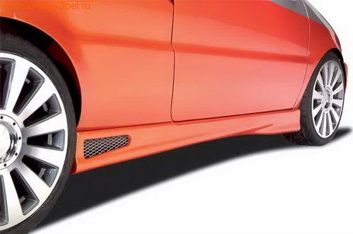 Пороги Opel Tigra
