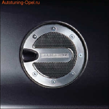 Накладка на крышку бензобака Opel Meriva алюминевая