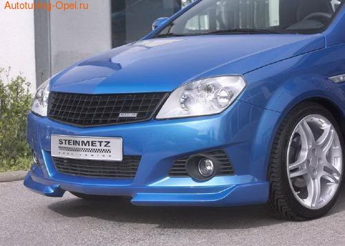 Накладка на бампер передний для Opel Tigra