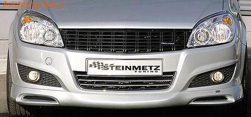 Решетка радиатора Opel Astra H Хэтчбек, Универсал (рестайлинг)