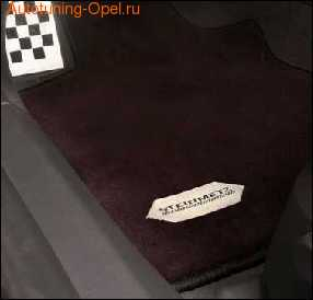 Коврики в салон Opel Corsa D со стальным логотипом Steinmetz