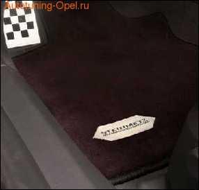 Коврики в салон Opel Astra H со стальным логотипом Steinmetz